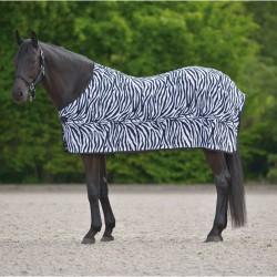 Fleece odpocovací deka ZEBRA